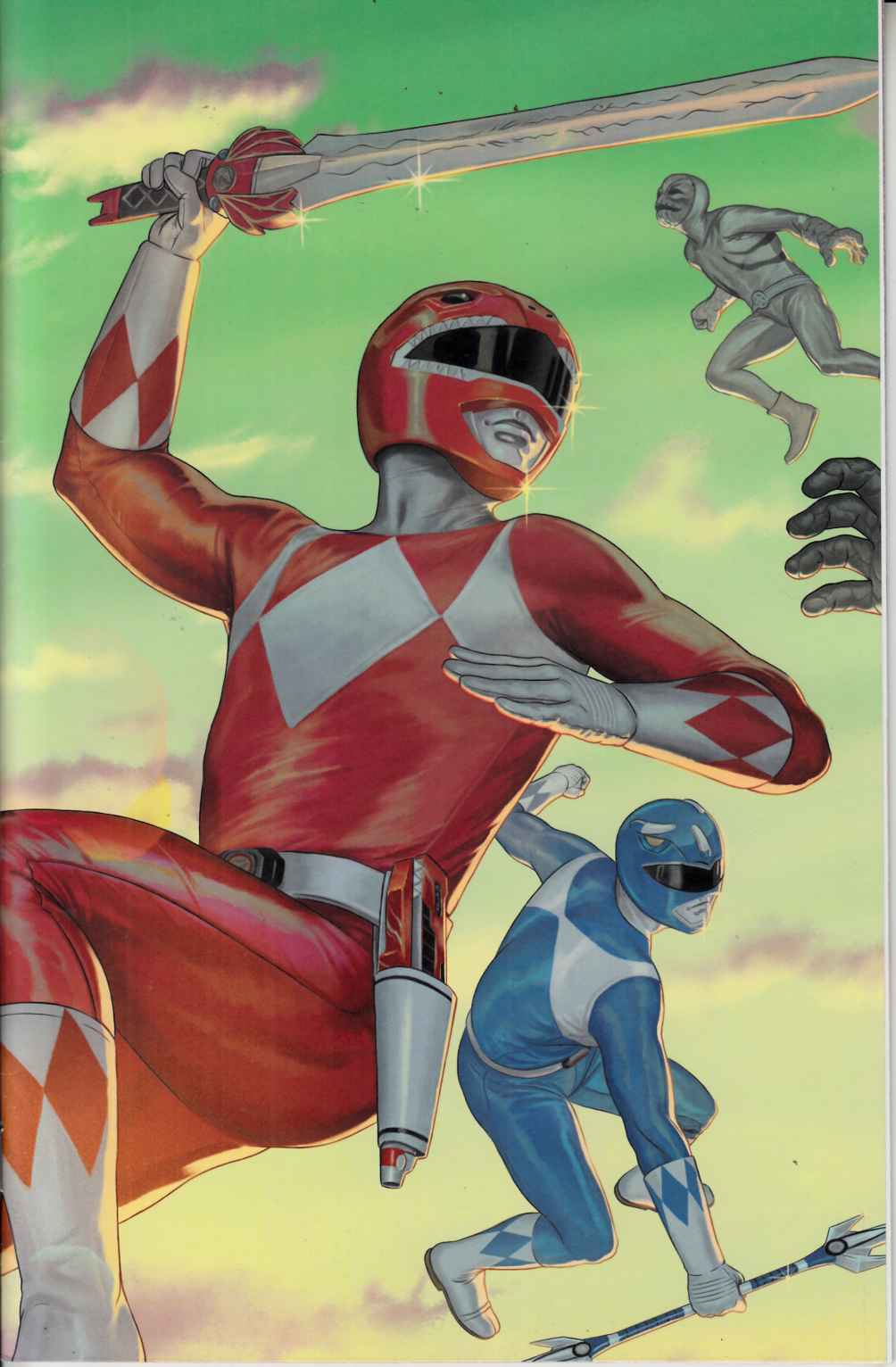 Mighty Morphin Power Rangers #14 Morris Incentive Cover Near Mint Minus [Boom Comic] THUMBNAIL