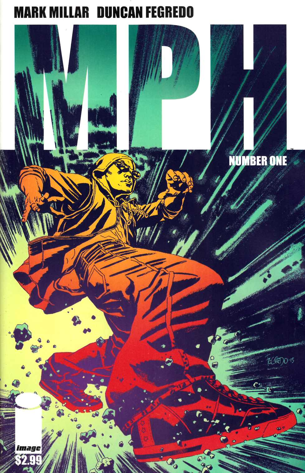 MPH #1 Cover A- Fegredo [Comic] THUMBNAIL