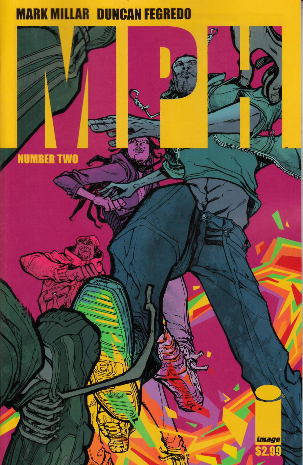 MPH #2 Cover B- Canete [Comic] THUMBNAIL