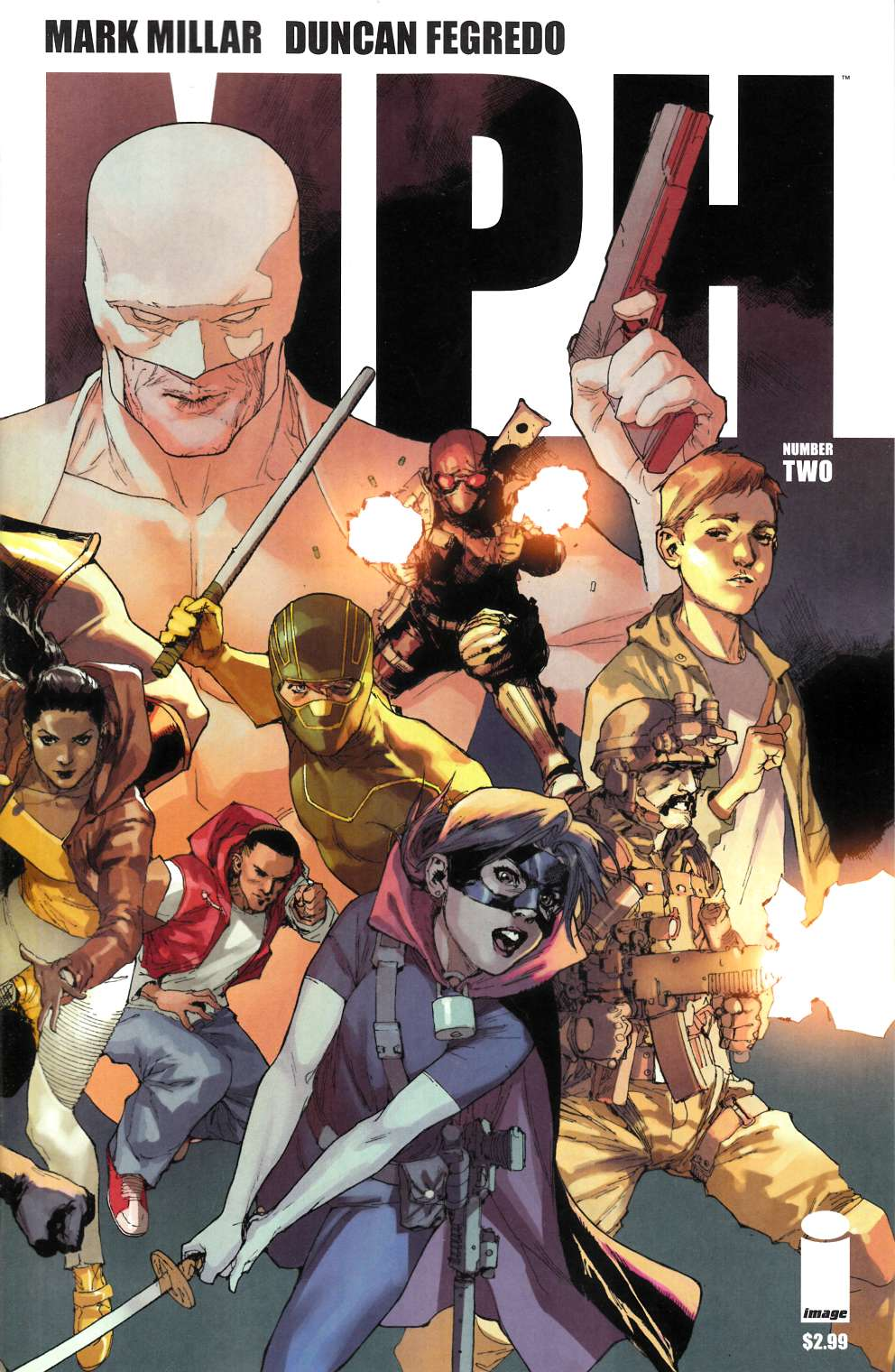 MPH #2 Cover D- Yu [Comic] THUMBNAIL