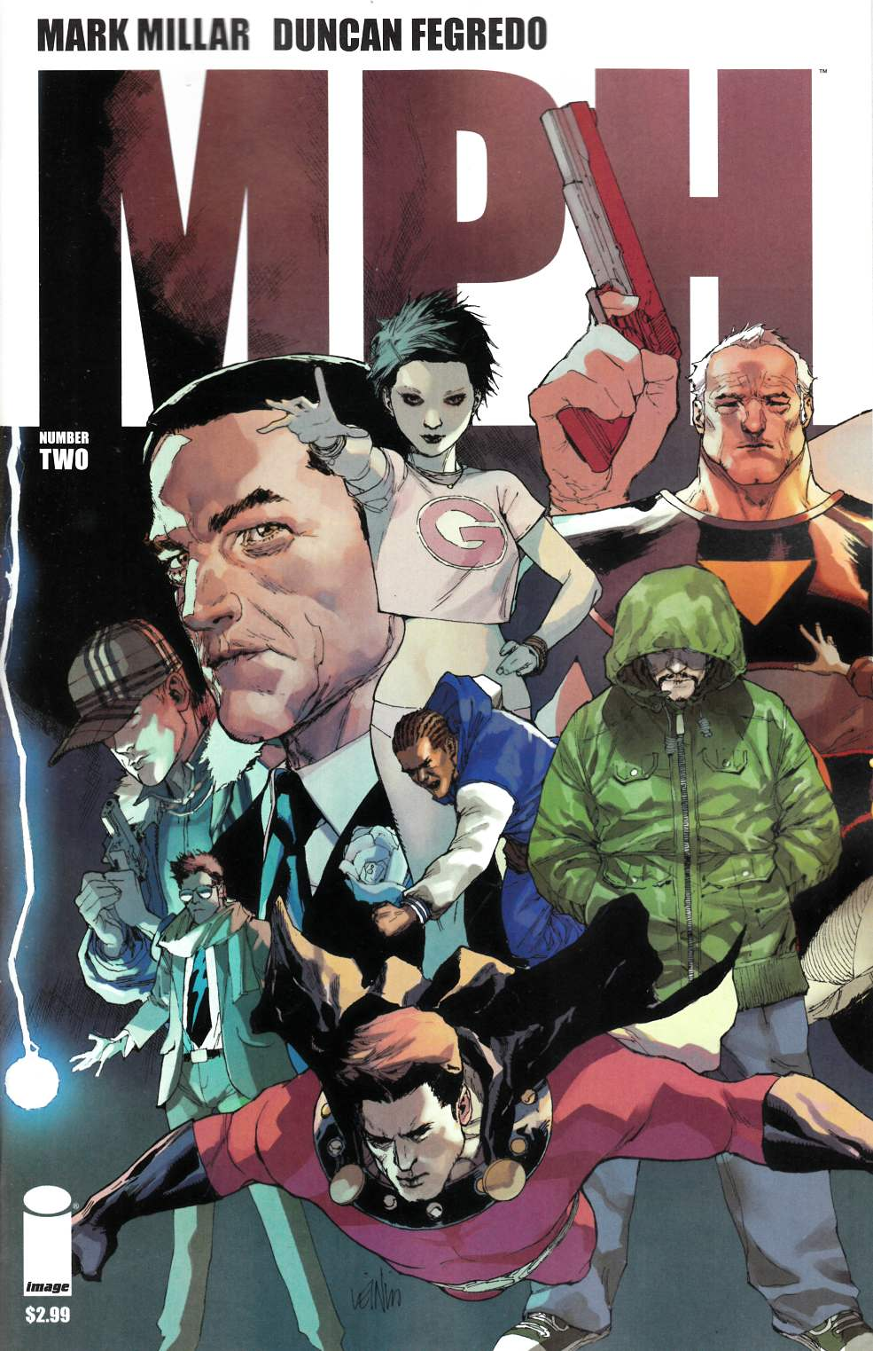 MPH #2 Cover C- Yu [Comic] LARGE