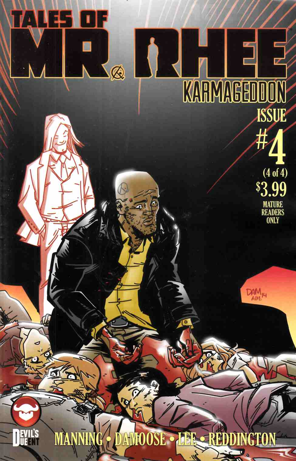 Tales of Mr Rhee Karmageddon #4 [Devils Due Comic] LARGE
