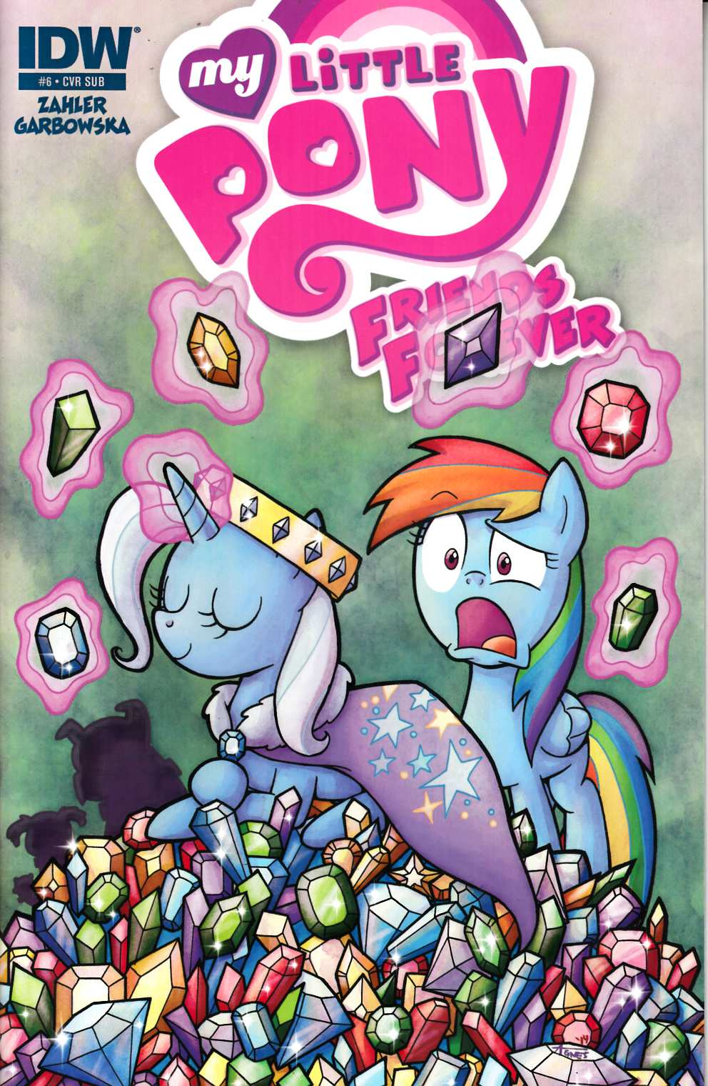 My Little Pony Friends Forever #6 Subscription Cover [IDW Comic] LARGE