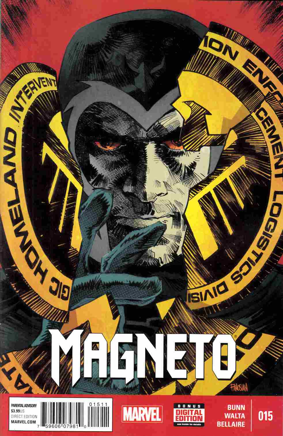 Magneto #15 [Marvel Comic] LARGE
