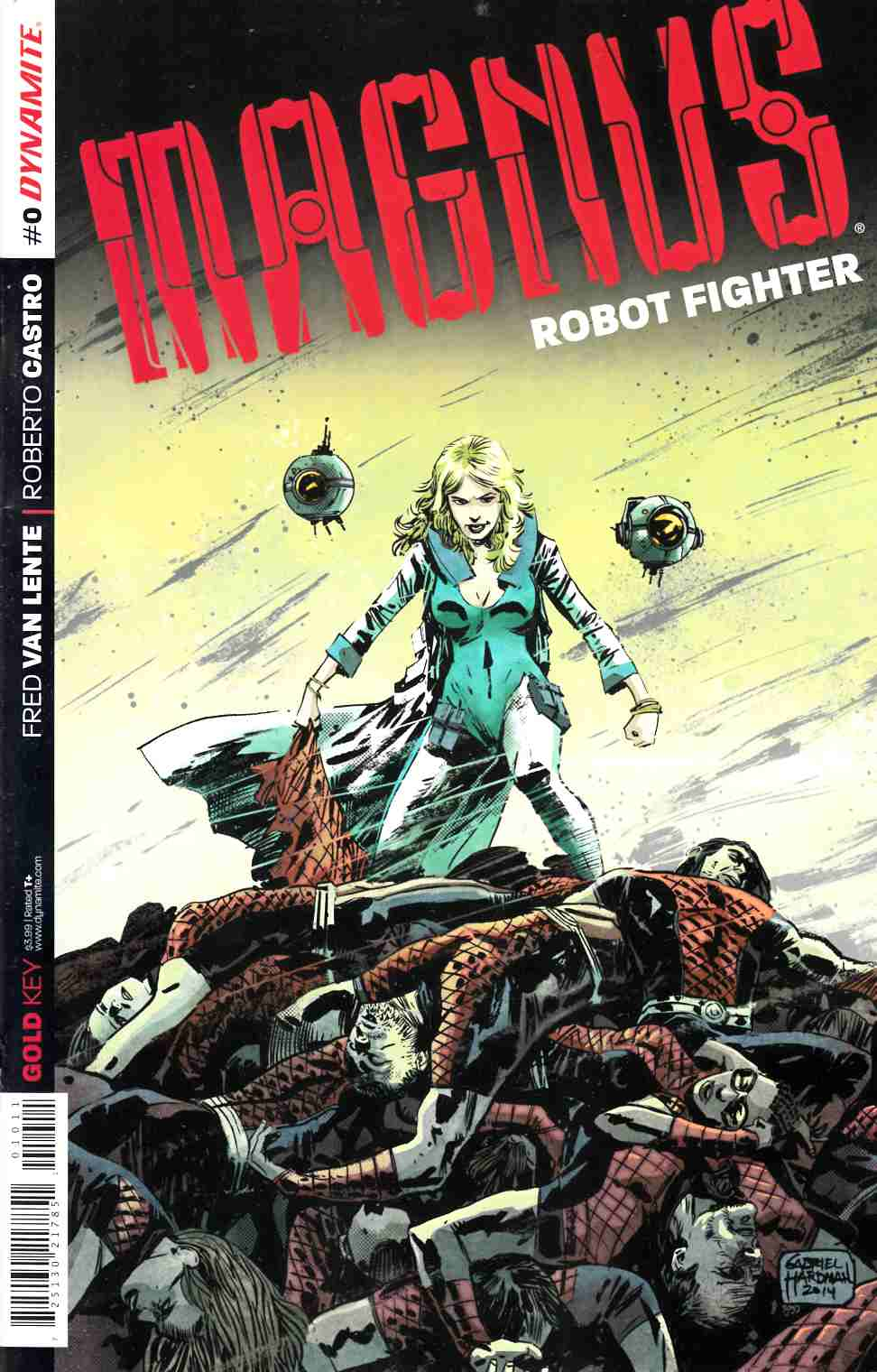 Magnus Robot Fighter #0 [Dynamite Comic] LARGE