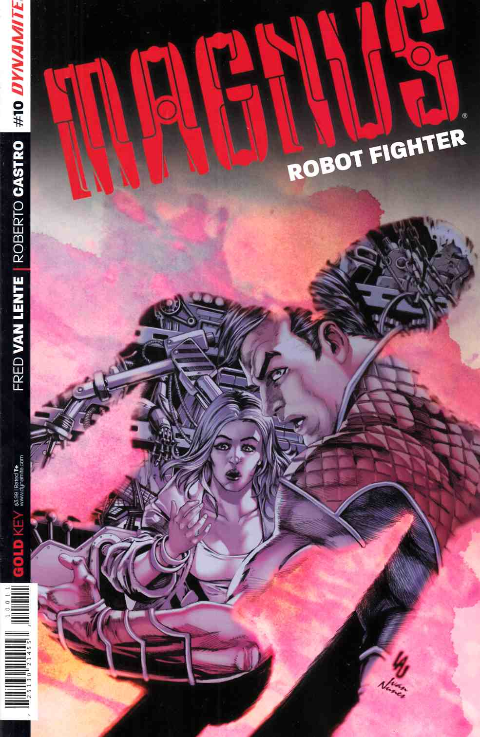 Magnus Robot Fighter #10 Cover A- Lau [Dynamite Comic] THUMBNAIL