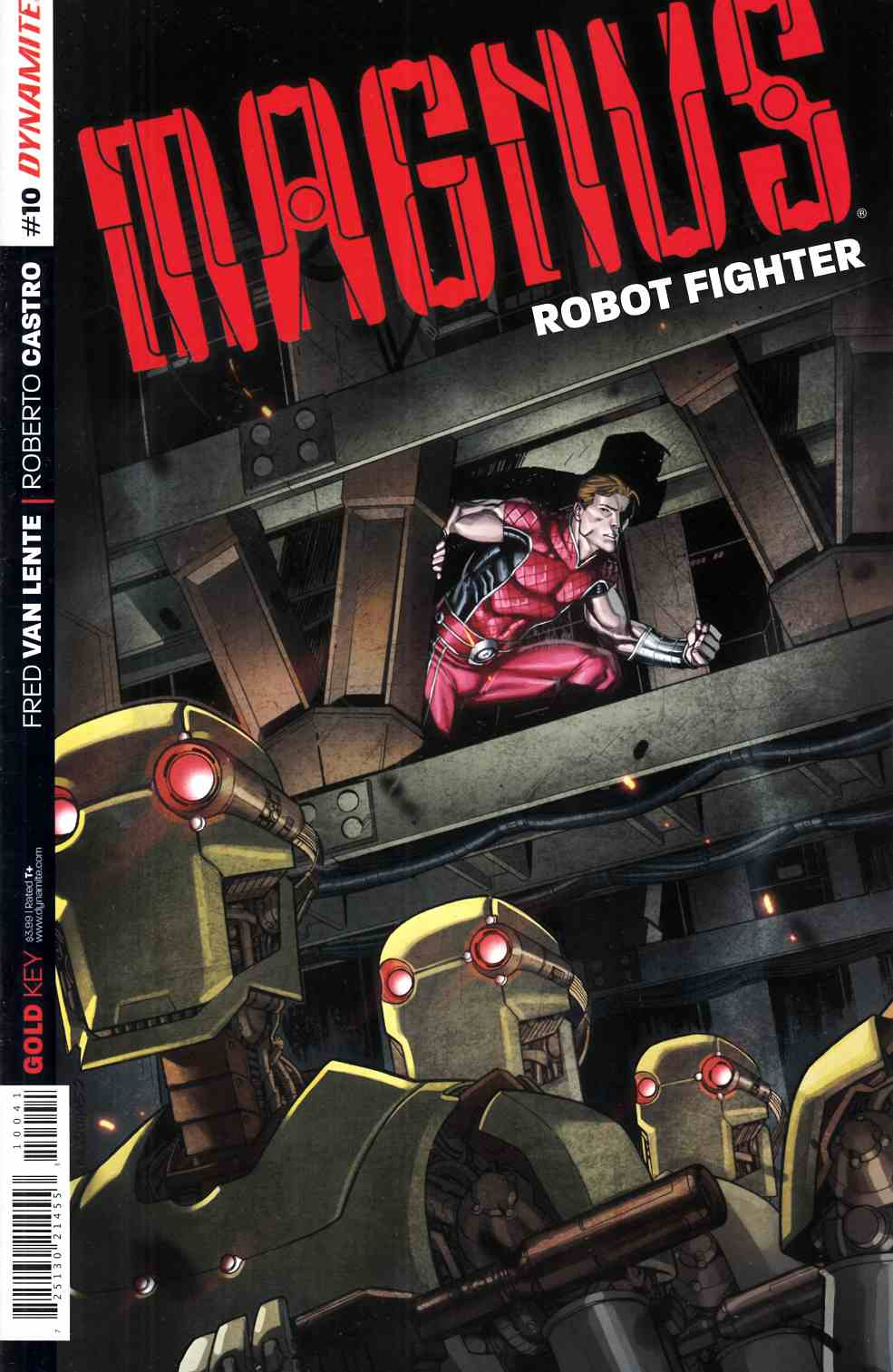Magnus Robot Fighter #10 Cover B- Smith Subscription [Dynamite Comic] THUMBNAIL