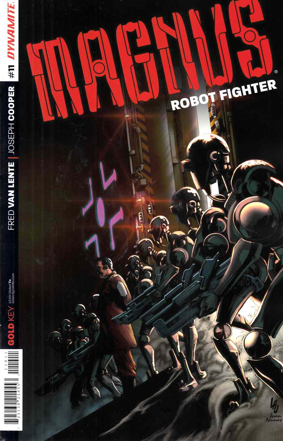 Magnus Robot Fighter #11 Cover A- Lau [Dynamite Comic] THUMBNAIL