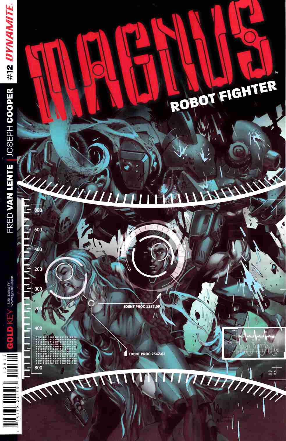 Magnus Robot Fighter #12 Cover A- Lau [Dynamite Comic] THUMBNAIL