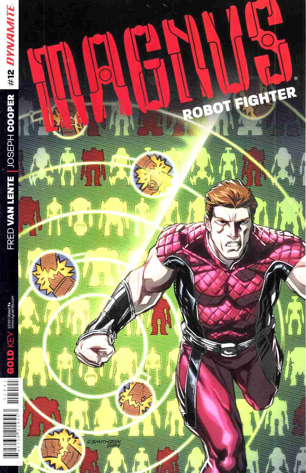 Magnus Robot Fighter #12 Cover B- Smith [Dynamite Comic] THUMBNAIL