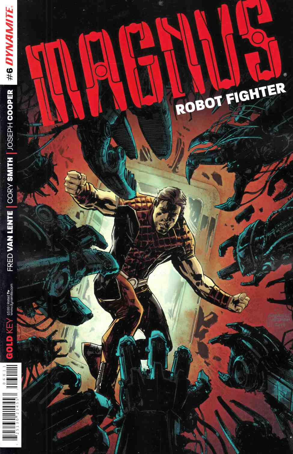 Magnus Robot Fighter #6 [Comic] LARGE