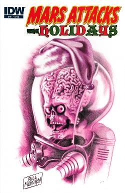 Mars Attacks Holidays (One Shot) Cover A [Comic] LARGE