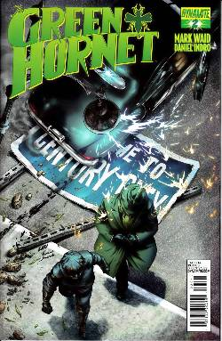 Mark Waid Green Hornet #2 Lau Subcription Cover [Comic] LARGE