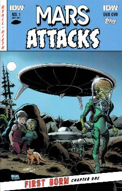 Mars Attacks First Born #1 Subscription Cover [Comic] LARGE