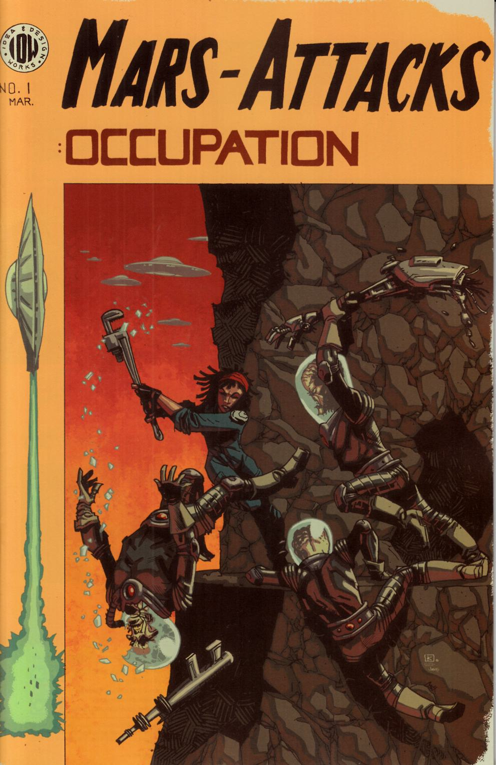 Mars Attacks Occupation #1 Cover RI [IDW Comic] THUMBNAIL