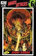 Mars Attacks #6 Cover RI- Francavilla [Comic] THUMBNAIL