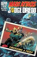 Mars Attacks Judge Dredd #1 Subscription Cover [Comic]