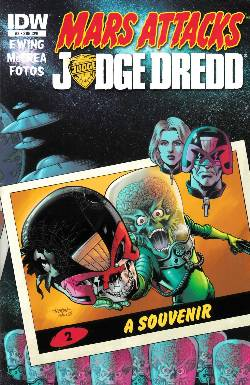 Mars Attacks Judge Dredd #2 Subscription Variant Cover [Comic] LARGE