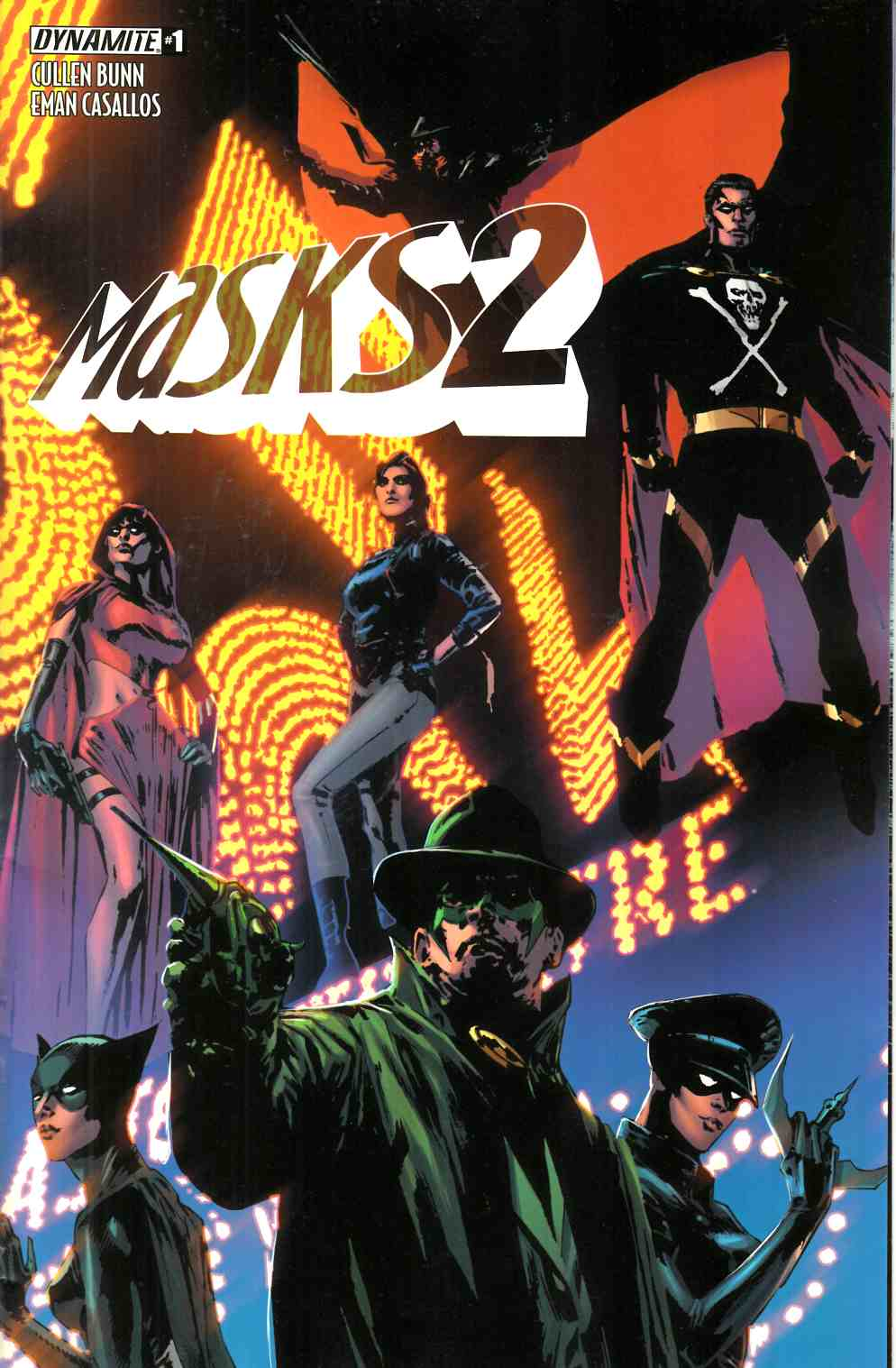 Masks 2 #1 Cover A- Guice [Dynamite Comic] THUMBNAIL