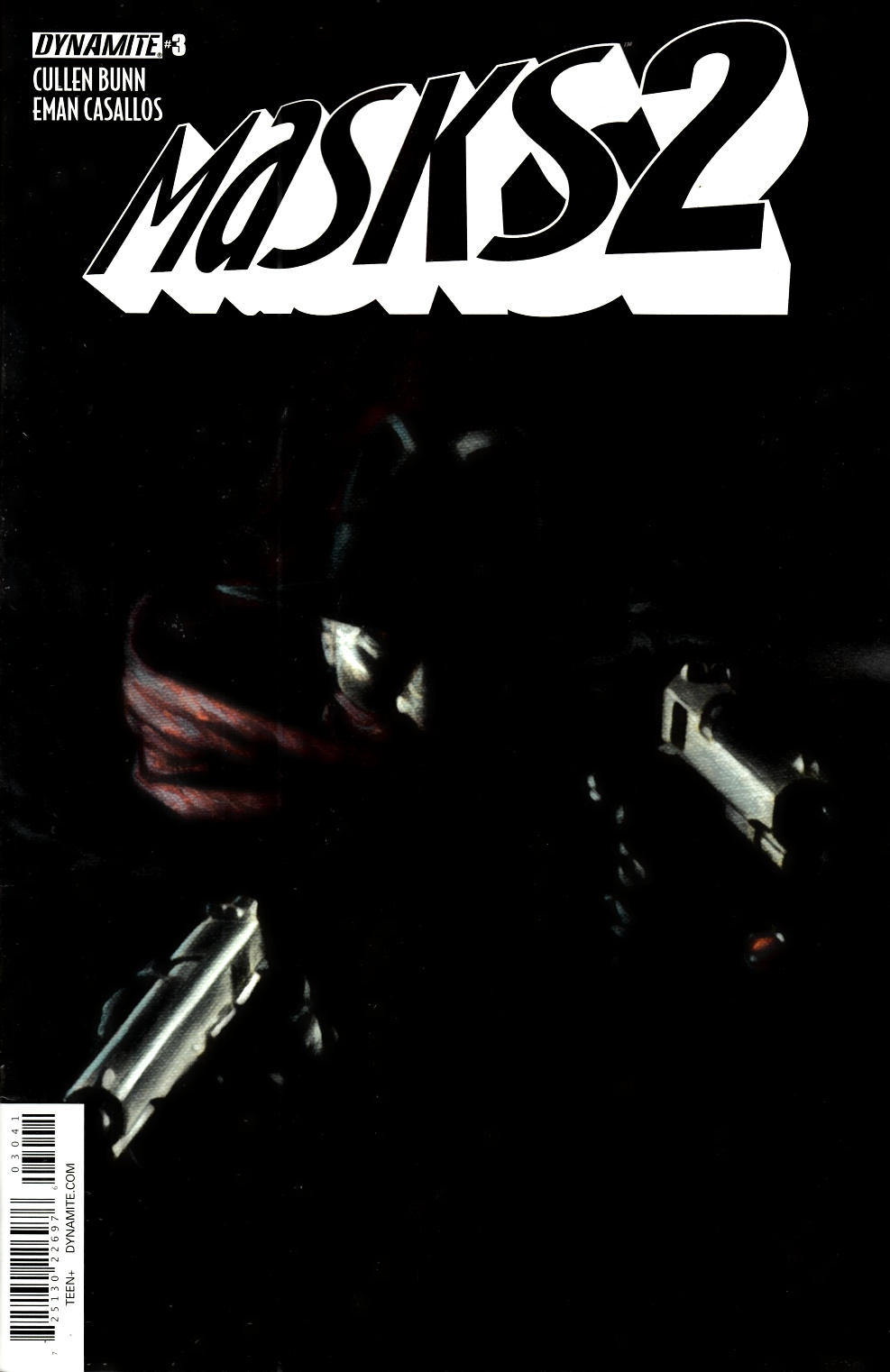 Masks 2 #3  Worley Shadow Variant Cover [Dynamite Comic] THUMBNAIL