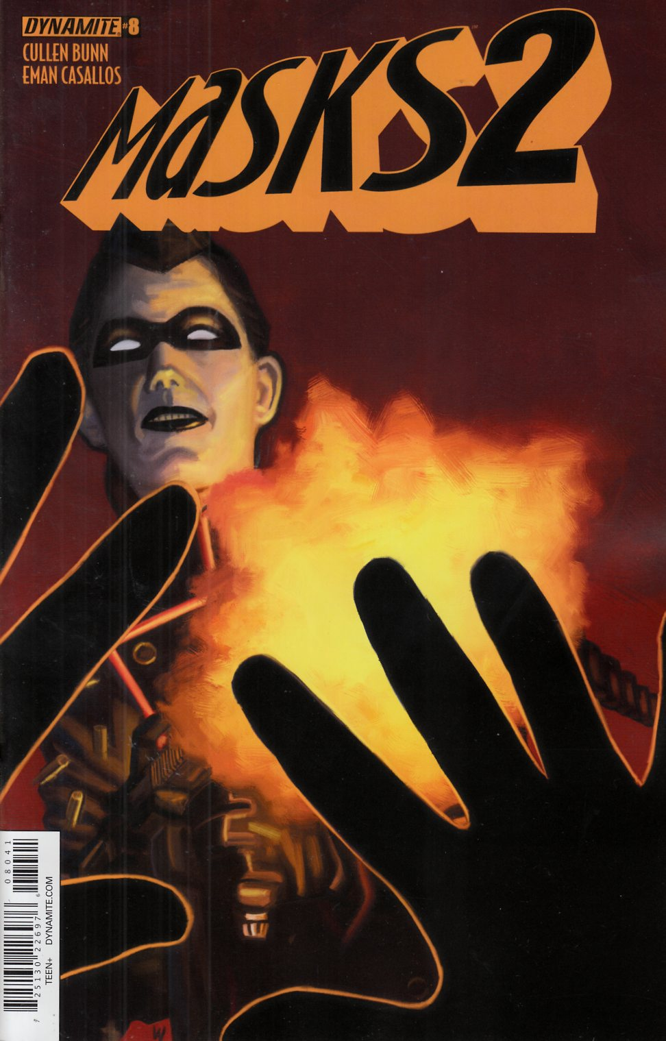 Masks 2 #8 Worley Black Sparrow Variant Cover Near Mint Minus (9.2) [Dynamite Comic] THUMBNAIL