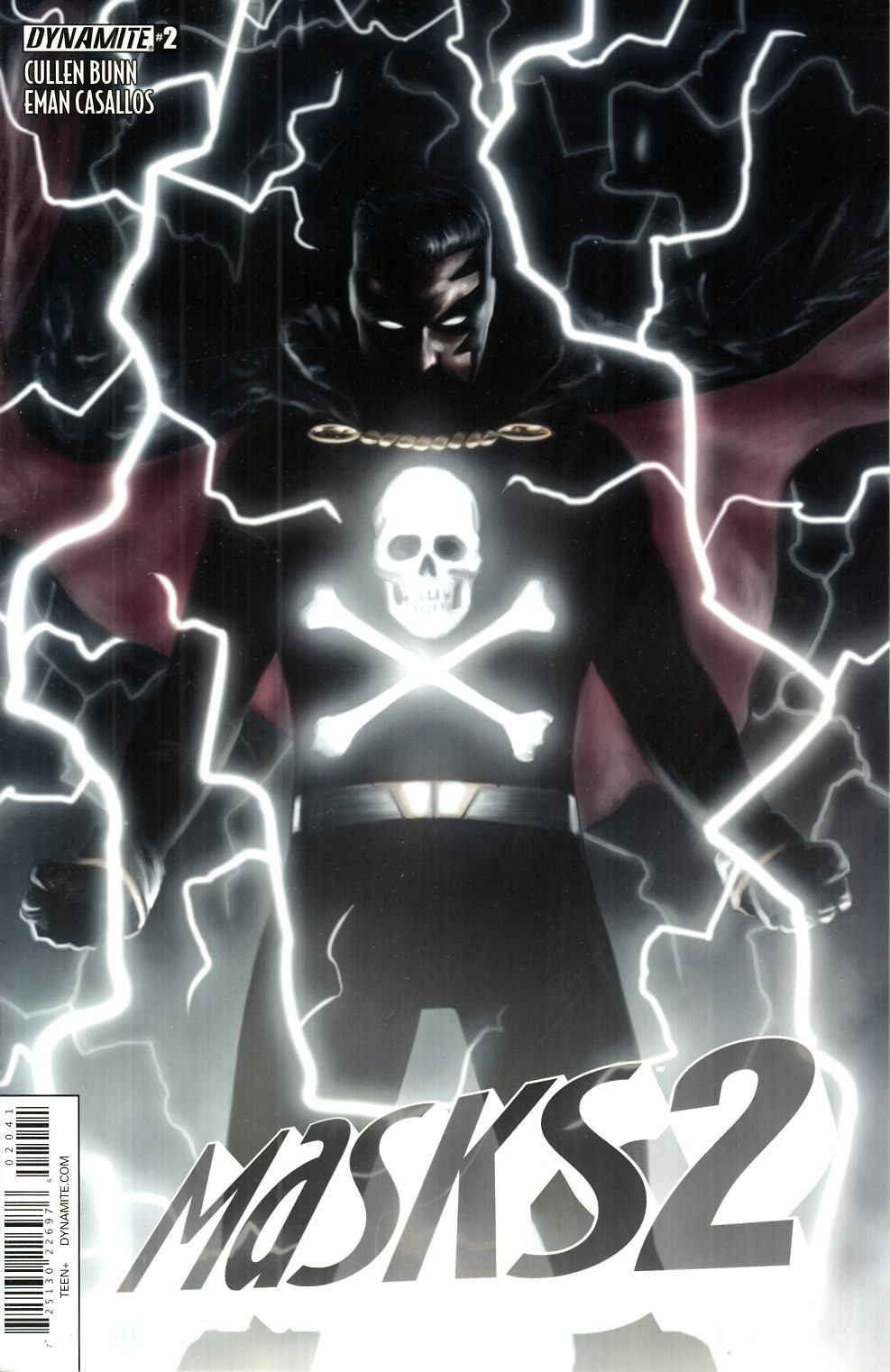 Masks 2 #2 Worley Black Terror Variant Cover [Dynamite Comic] THUMBNAIL