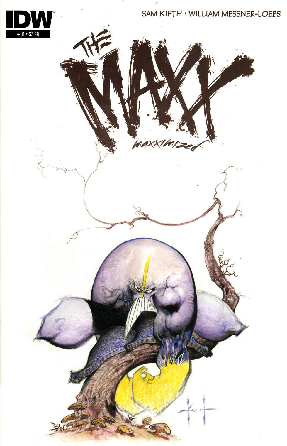 Maxx Maxximized #10 [Comic] THUMBNAIL