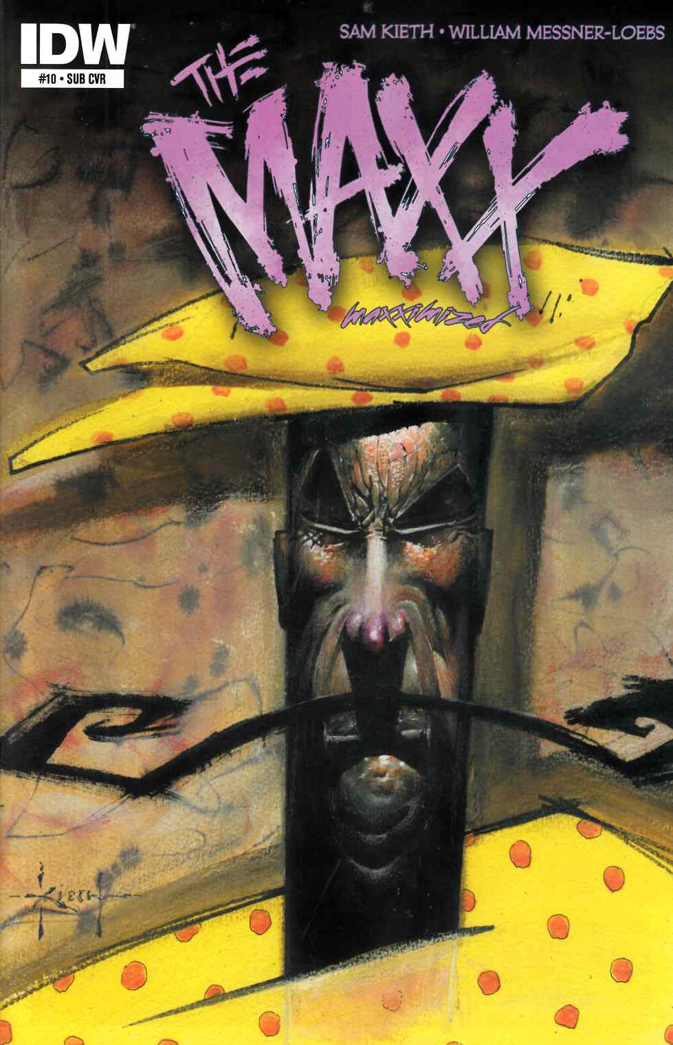 Maxx Maxximized #10 Subscription Cover [Comic] LARGE