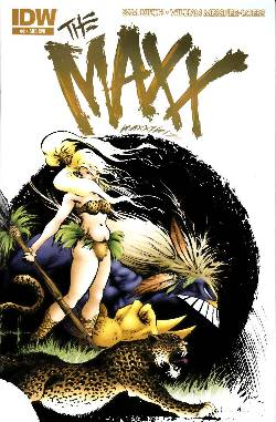 Maxx Maxximized #2 Subscription Cover [Comic] LARGE