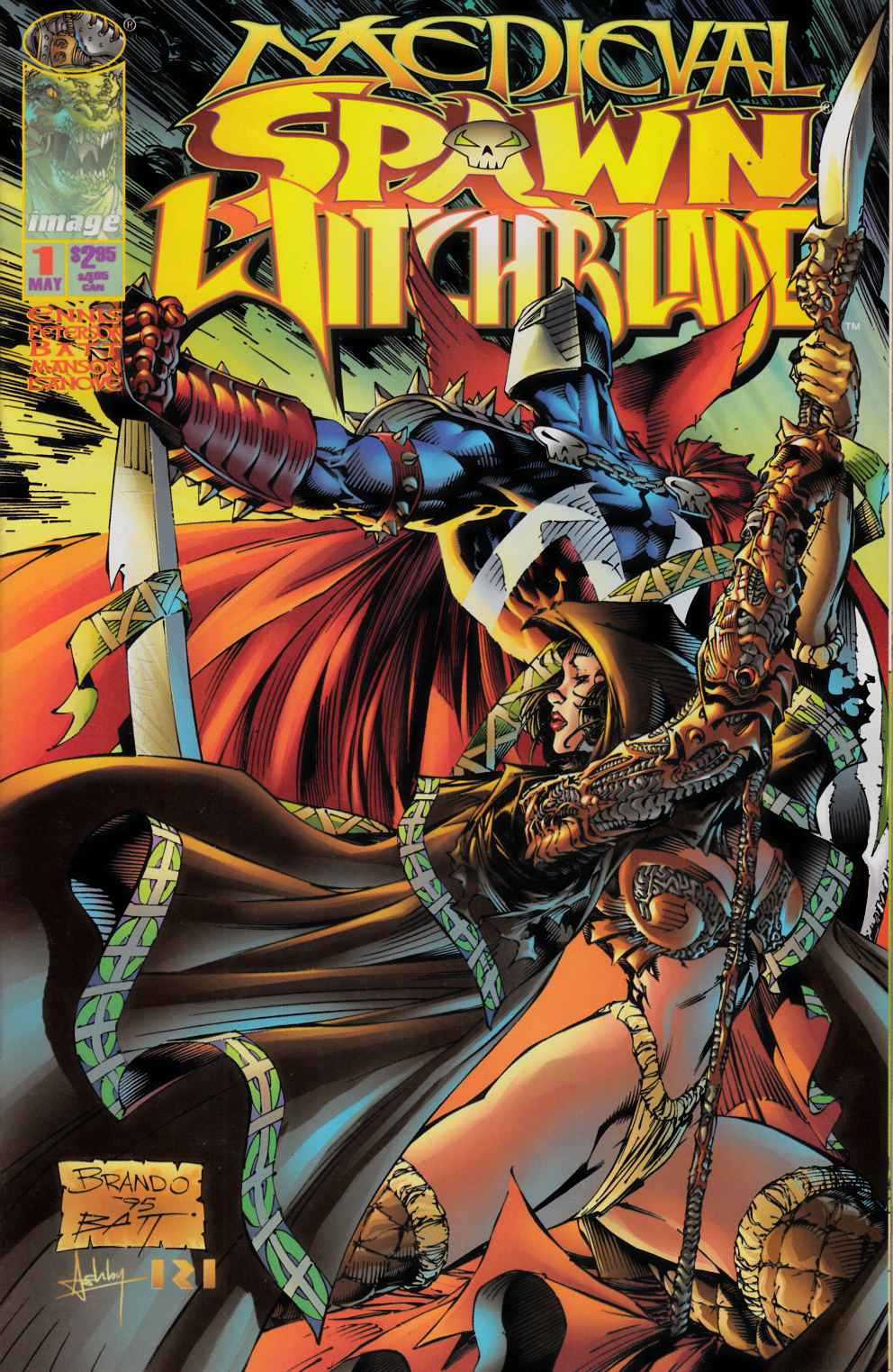 Medieval Spawn Witchblade #1 Very Fine (8.0) [Image Comic] LARGE