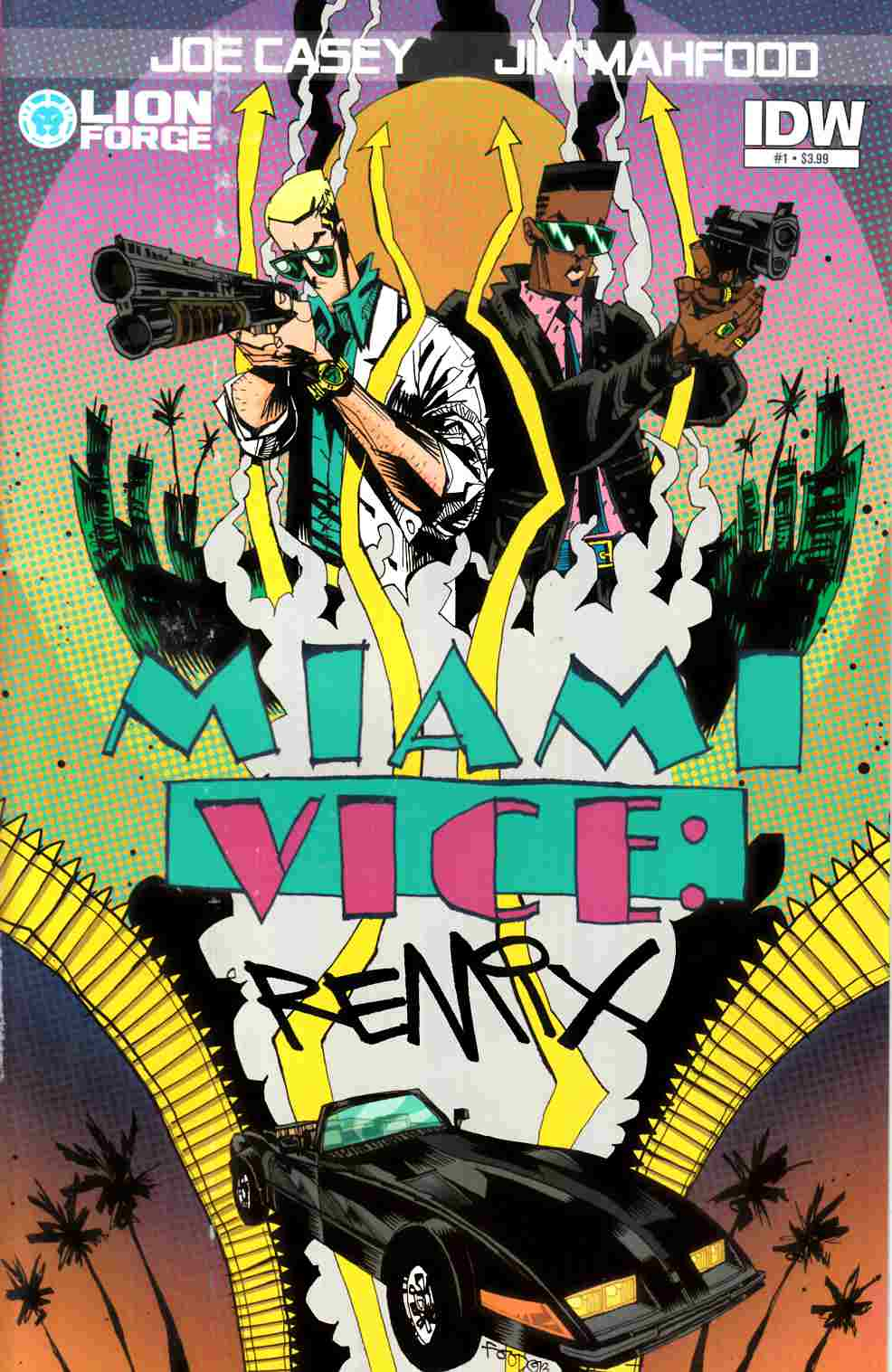 Miami Vice Remix #1 [IDW Comic] THUMBNAIL