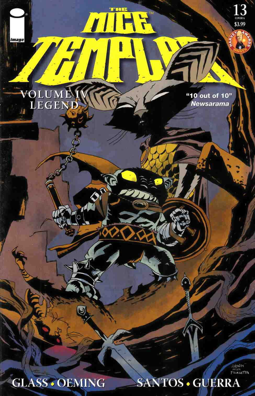Mice Templar IV Legend #13 Cover A- Oeming [Comic] THUMBNAIL