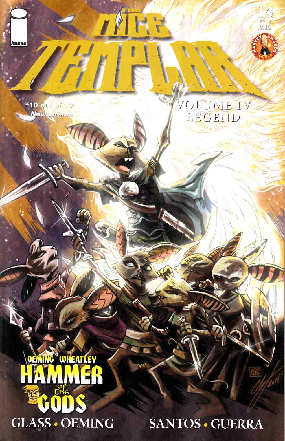 Mice Templar IV Legend #14 Cover B- Santos & Free [Image Comic] THUMBNAIL