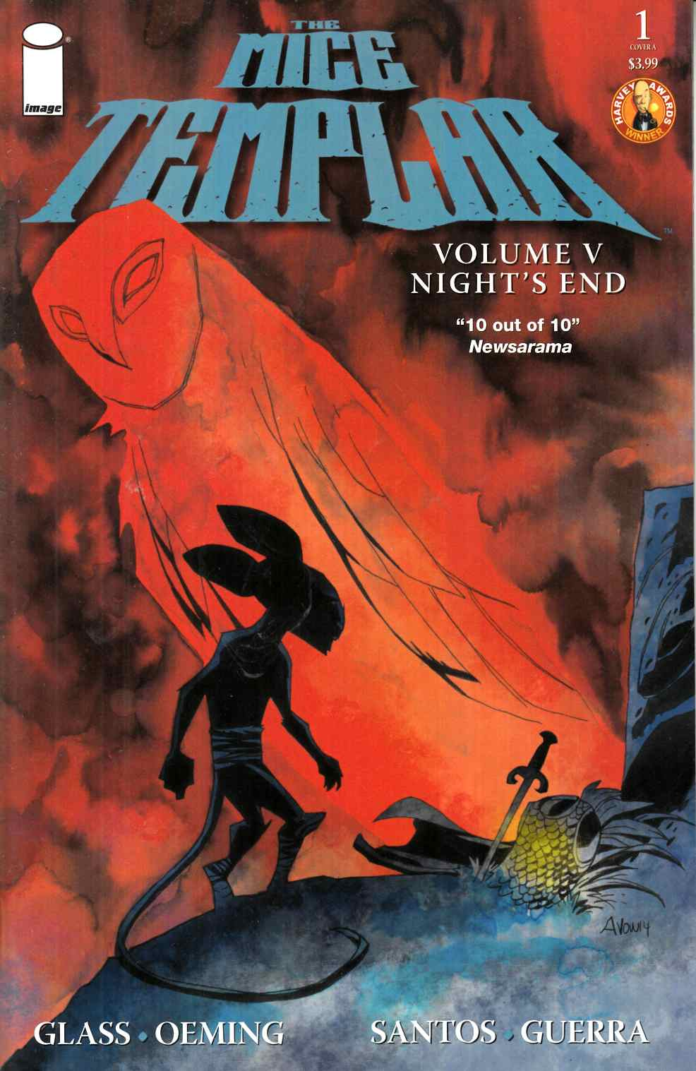 Mice Templar V Nights End #1 Cover A [Image Comic]_THUMBNAIL