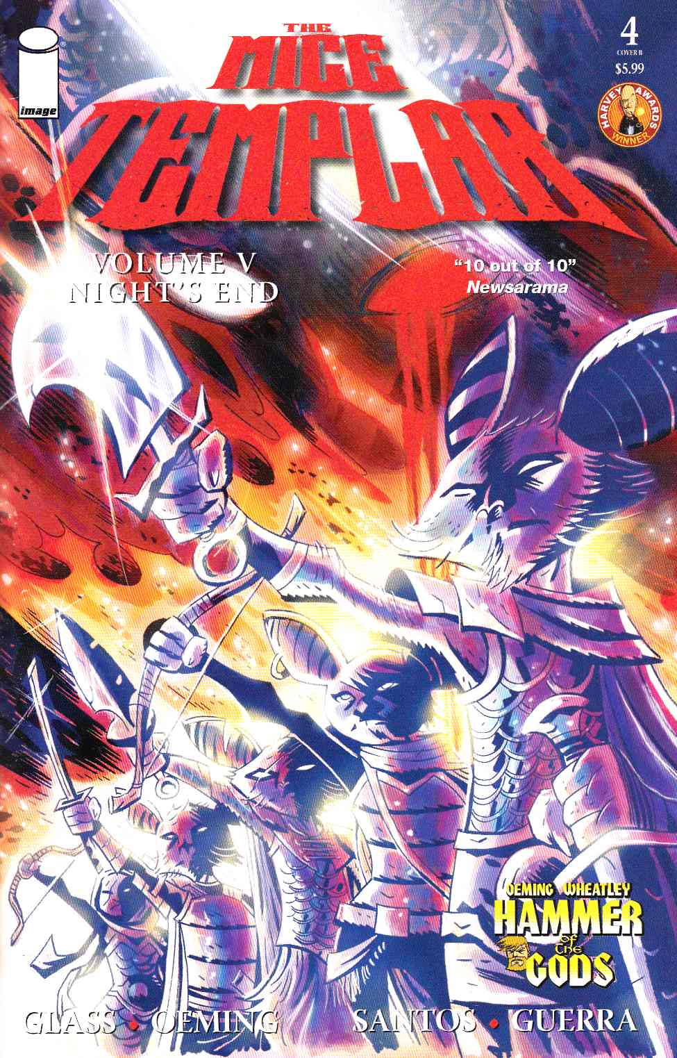 Mice Templar V Nights End #4 Cover B- Santos [Image Comic]_THUMBNAIL