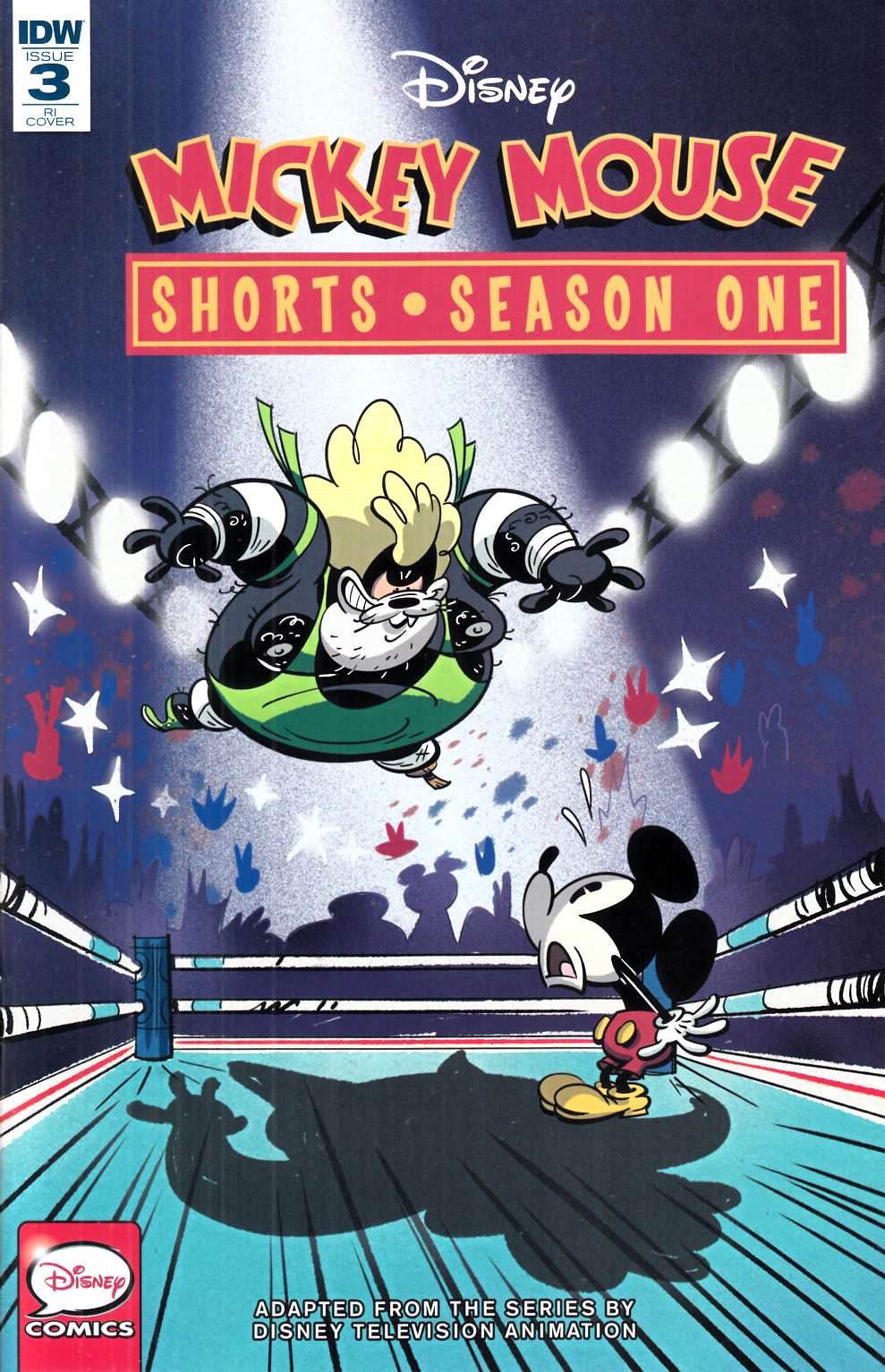 Mickey Mouse Shorts Season 1 #3 Cover RI [IDW Comic] THUMBNAIL