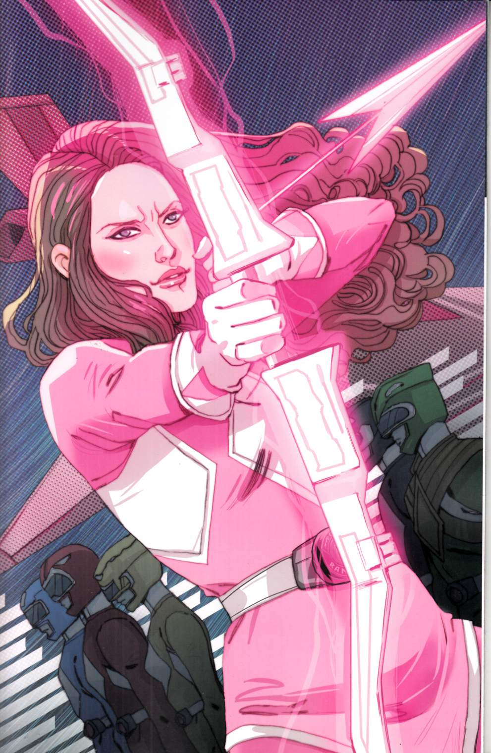 Power Rangers Pink #1 Sauvage Variant Cover [Boom Comic]_THUMBNAIL