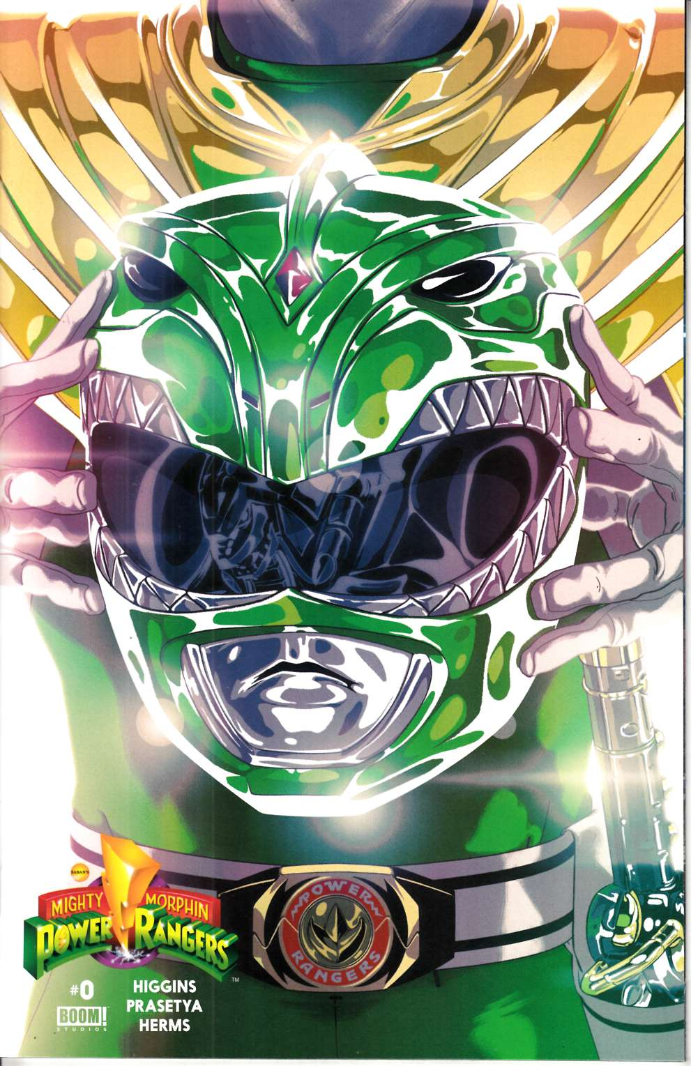 Mighty Morphin Power Rangers #0 Green Ranger Cover [Boom Comic]