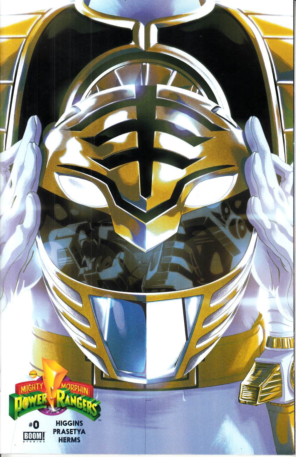 Mighty Morphin Power Rangers #0 White Ranger Cover [Boom Comic]