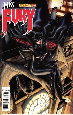 Miss Fury #2 Cover C- Tan [Comic] LARGE