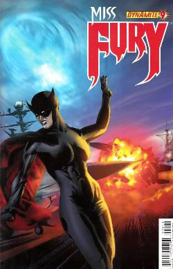 Miss Fury #9 Cover D- Calero [Comic] LARGE