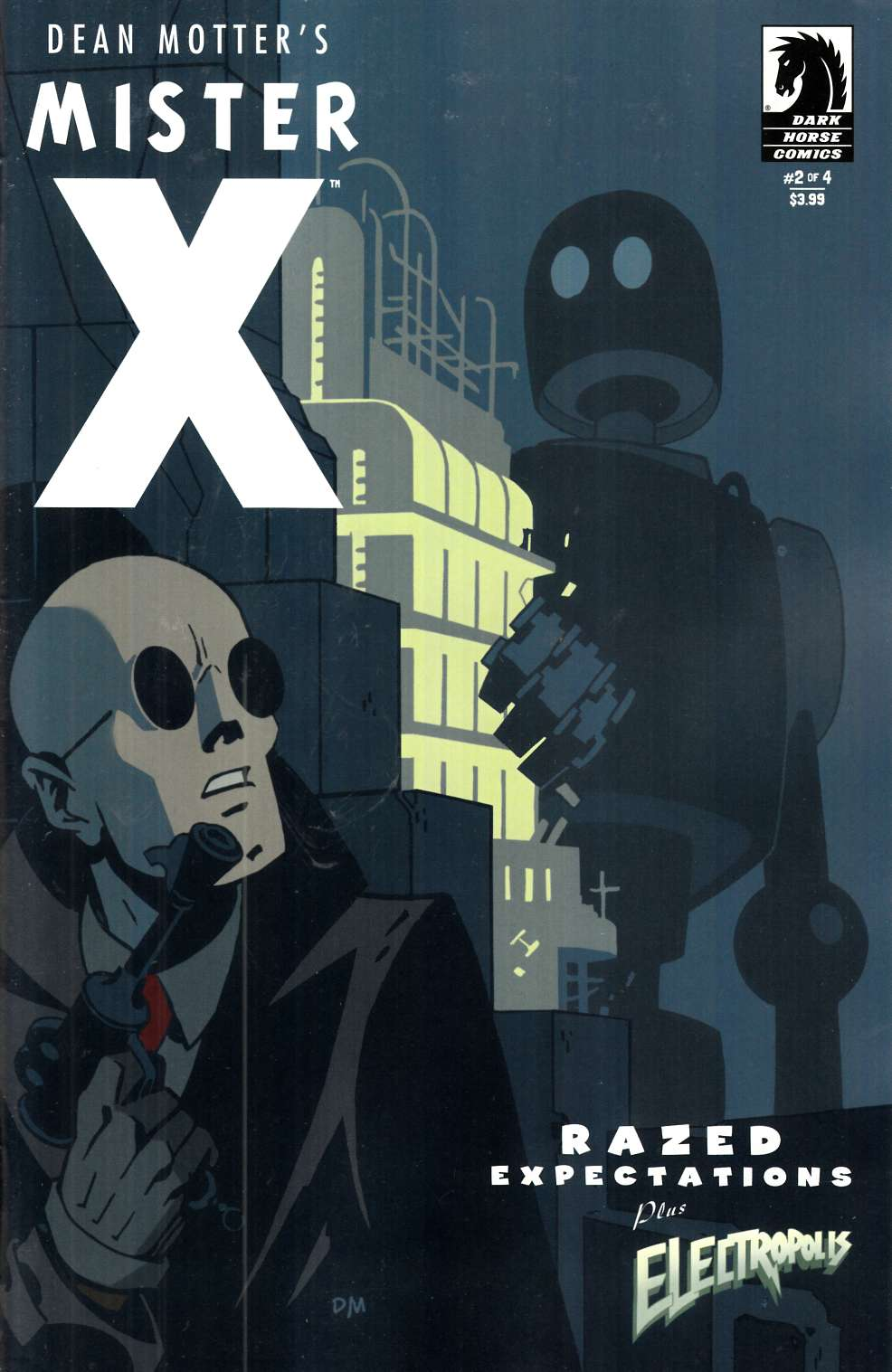 Mister X Razed #2 [Dark Horse Comic] THUMBNAIL
