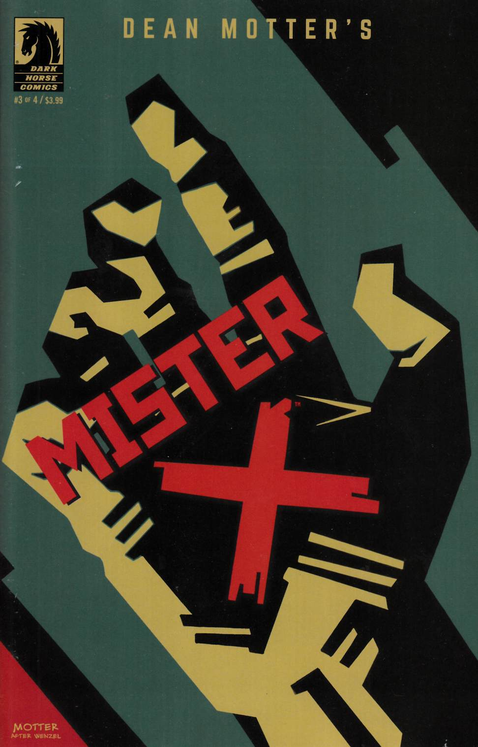 Mister X Razed #3 [Dark Horse Comic] THUMBNAIL