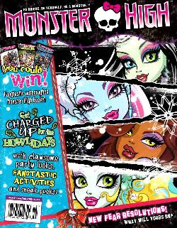 Monster High Magazine #5 [Magazine] LARGE