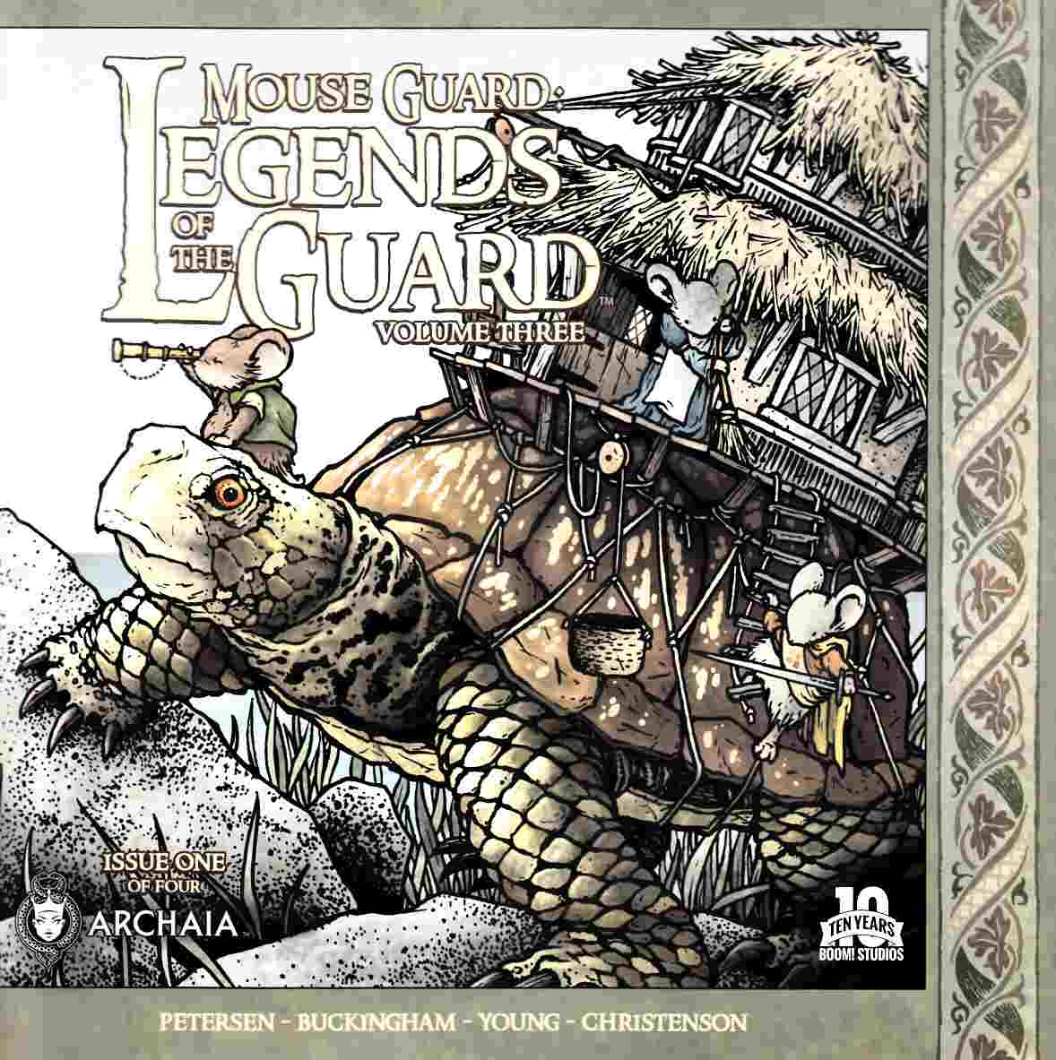Mouse Guard Legends of Guard Volume 3 #1 [Boom Comic] THUMBNAIL