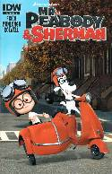 Mr Peabody & Sherman #3 Subscription Cover [Comic]
