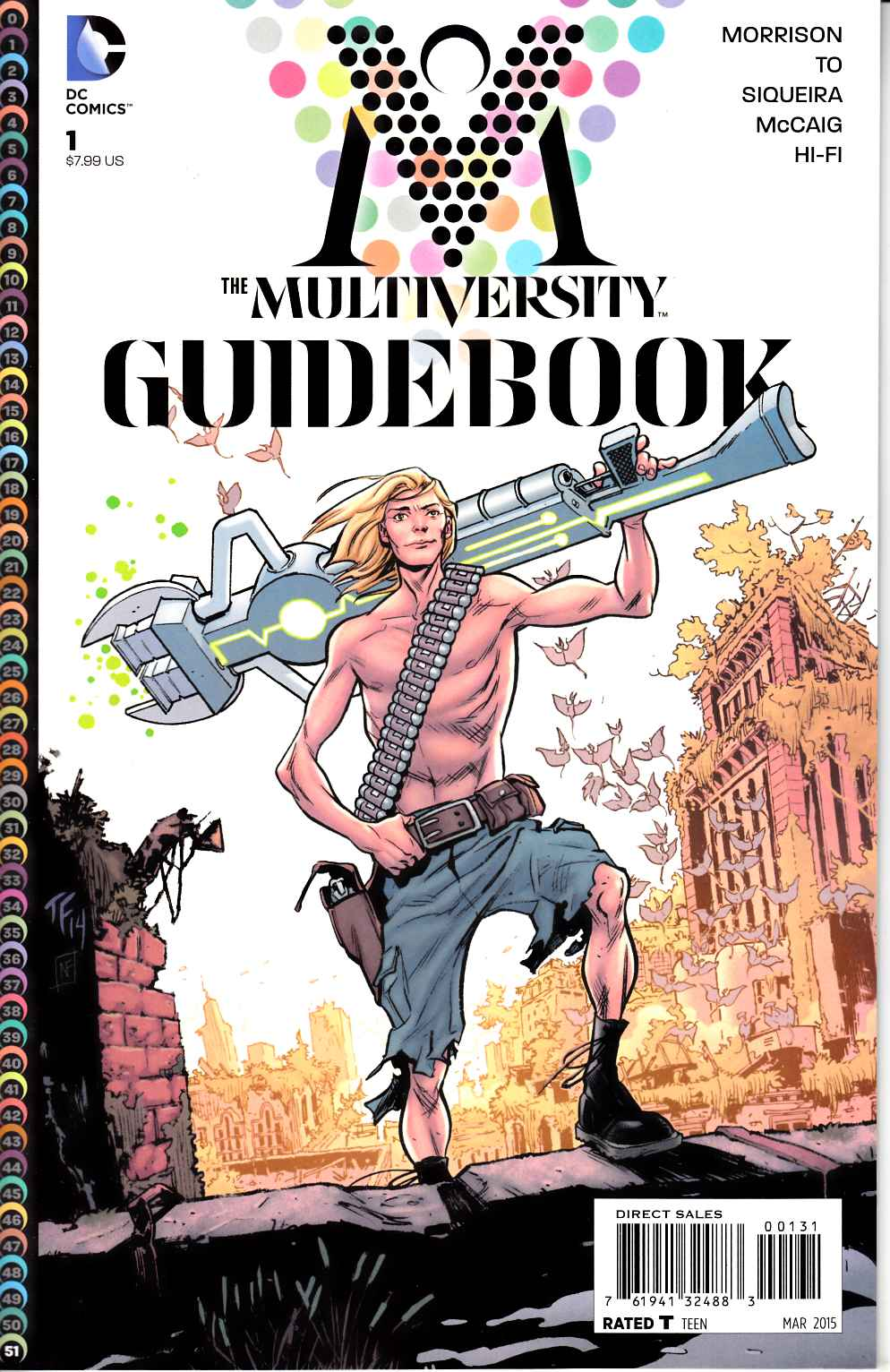 Multiversity Guidebook #1 Fowler Variant Cover [DC Comic] LARGE