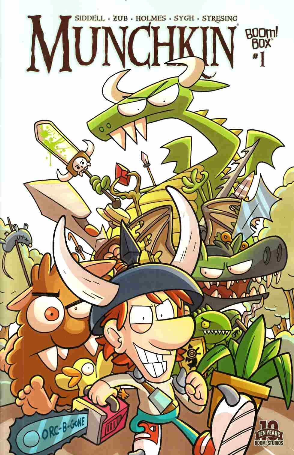 Munchkin #1 Cover A [Boom Comic] LARGE