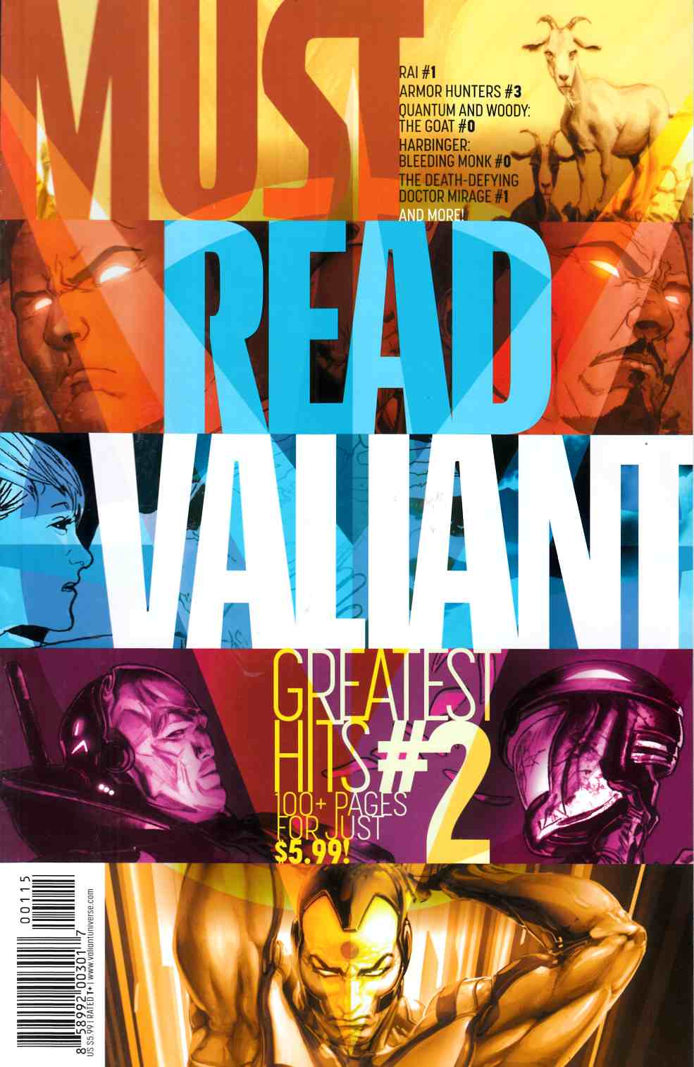 Must Read Valiant Greatest Hits #2 [Valiant Comic] THUMBNAIL