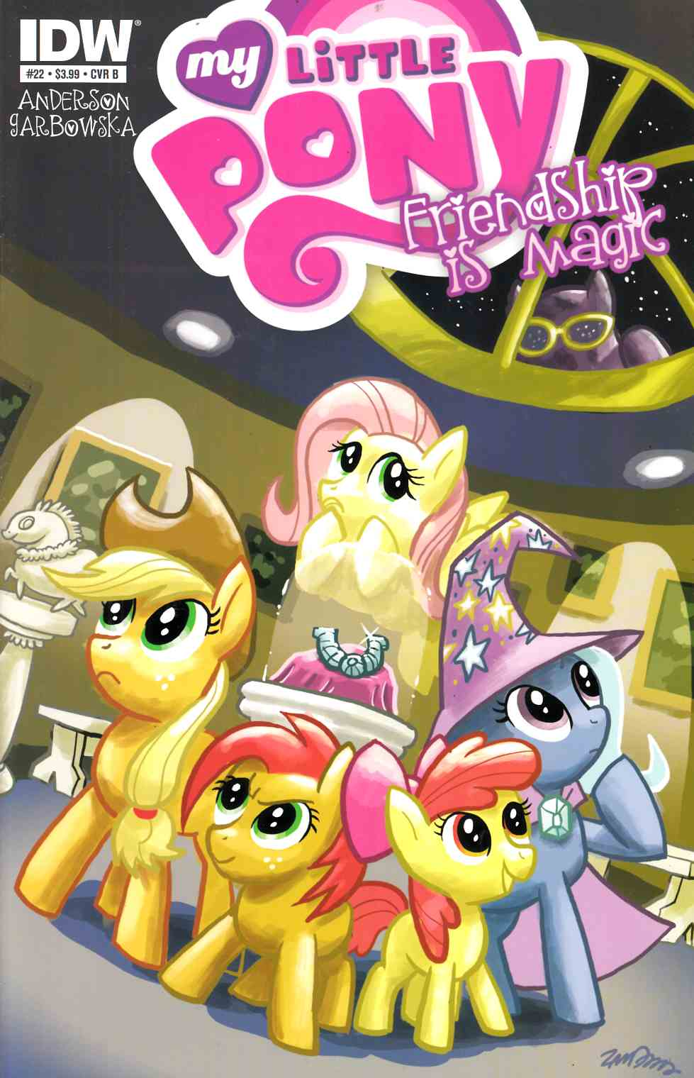 My Little Pony Friendship is Magic #22 Cover B- Cannon [Comic] THUMBNAIL